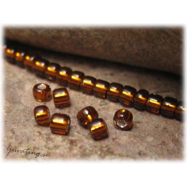 Matsuno copper silverlined 15/0