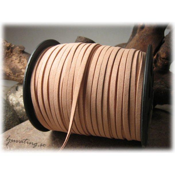 Mocka imitation burlywood fuskmocka bredd ca 4 mm