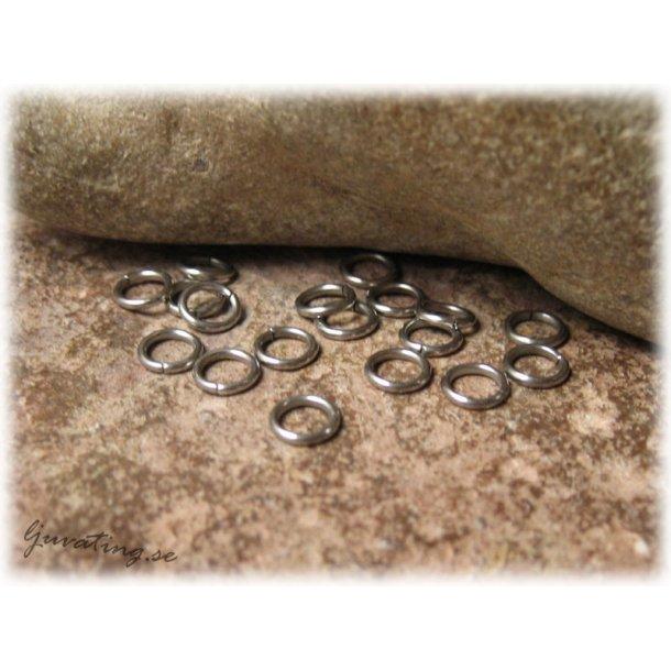 Bindringar i rostfritt stål 20-pack ca 5 mm